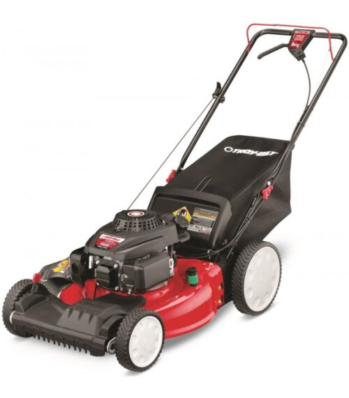 "21"" Petrol push along mower"