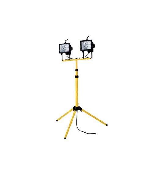 Double Head Halogen Light on Tripod