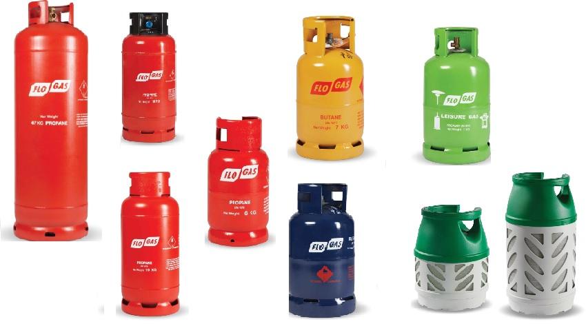 Gas Cylinder Range